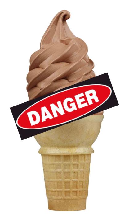 Dangerous ice cream
